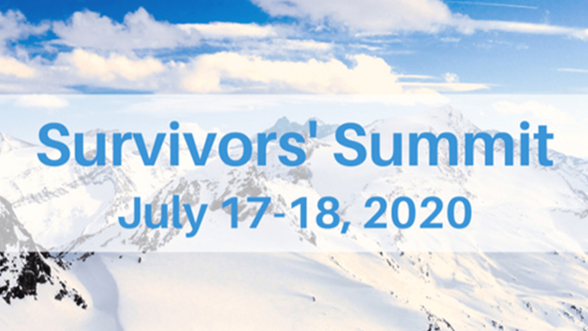 Summit for Survivors of the Sexual Revolution